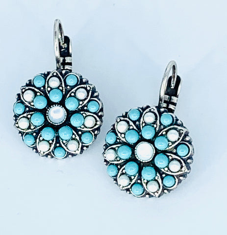 Mariana Polar Paradise Earrings on Silver Medium