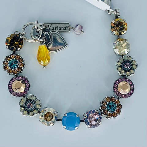 Mariana Medium Bracelet Rhapsody on Silver