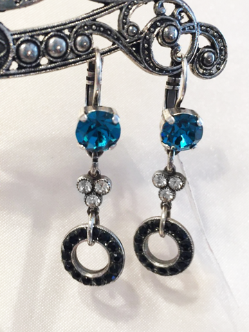 Mariana Earrings in Cannoli