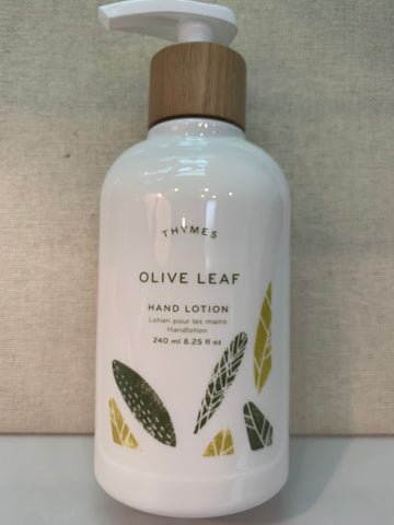 Thymes Olive Leaf Hand Lotion