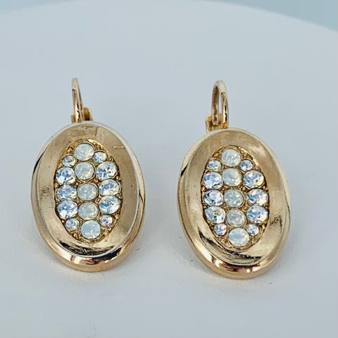 Mariana Earring Oval on Rose Gold
