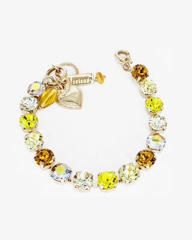 Mariana Small Bracelet Yellow Brick Road on Rose Gold