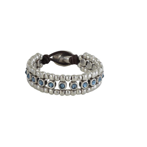 Bela Bracelet With Clear Crystals