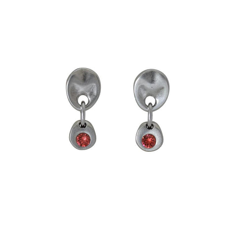 Lena Earrings Coral