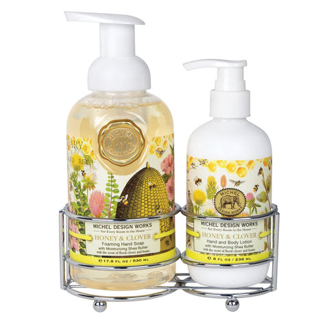 Honey Clover Handcare Caddy Set