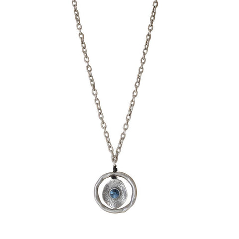 Moon Necklace Clear