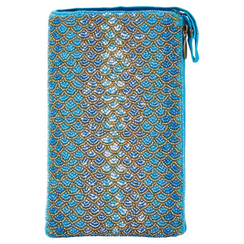 Club Bag in Turquoise Shimmer