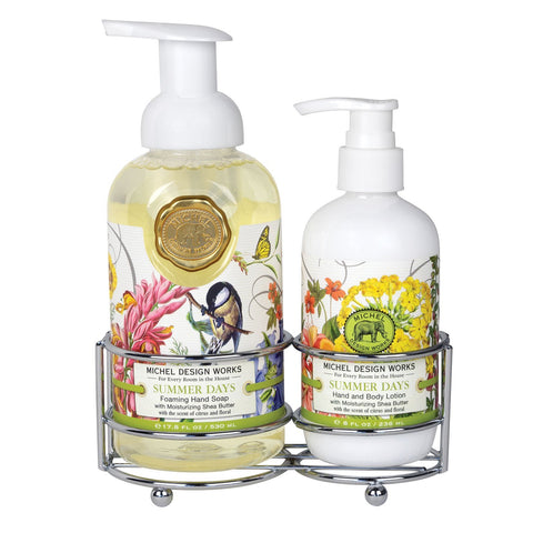 Summer Days Handcare Caddy Set