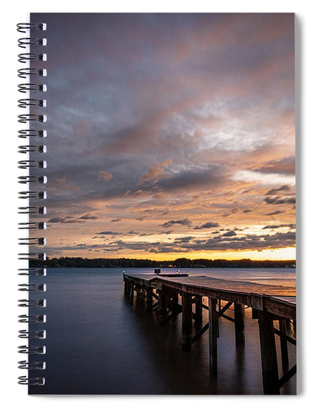 The Coming Storm - Spiral Notebook
