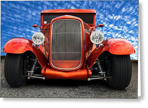 1930 Ford Street Rod - Greeting Card