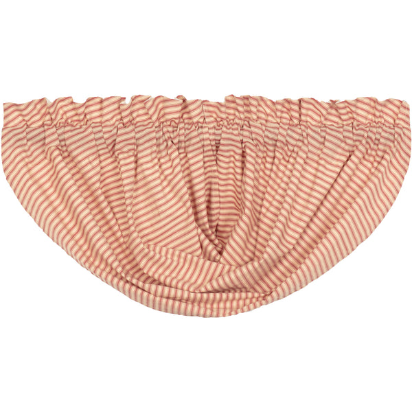 Sawyer Mill Ticking Stripe Balloon Valance
