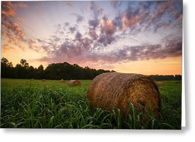 Country Sunrise - Greeting Card