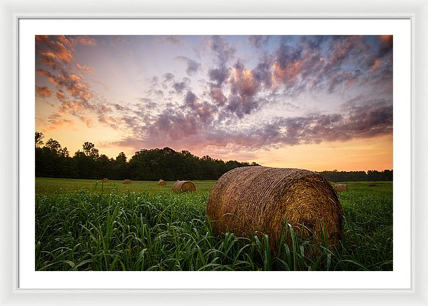 Country Sunrise - Framed Print