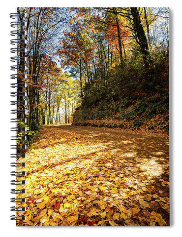 Fall In Cataloochee - Spiral Notebook