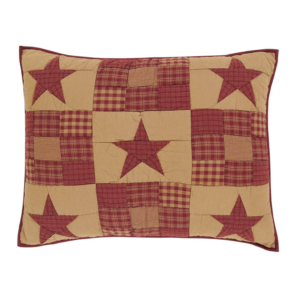 Ninepatch Star Sham