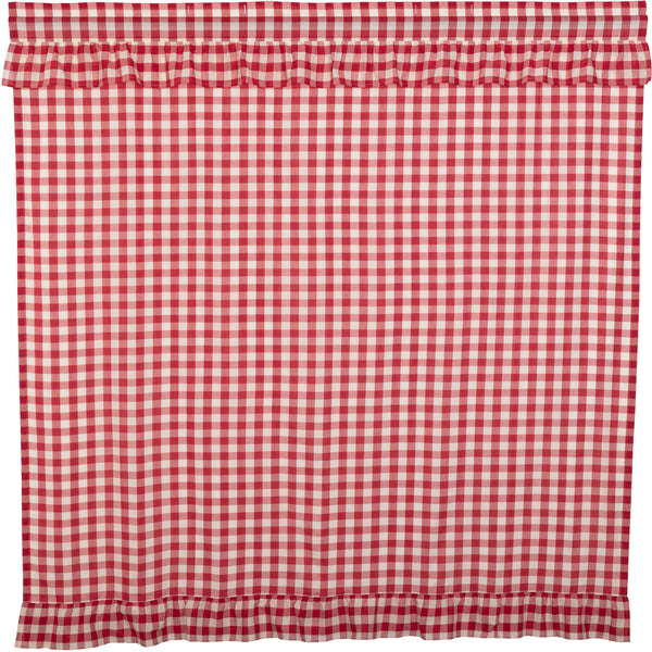 Annie Buffalo Check Ruffled Shower Curtain
