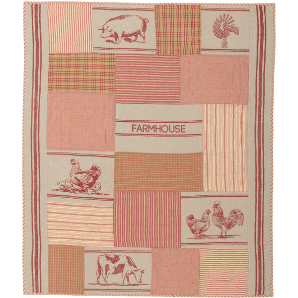 Sawyer Mill Farm Animal Throw