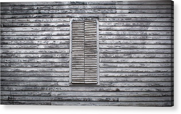 Shuttered - Acrylic Print