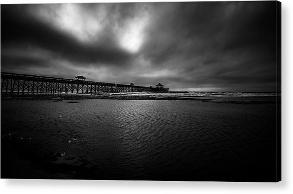 Storms Over Folly - Acrylic Print