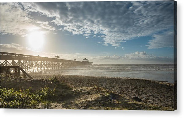 Sunrise Over Folly - Acrylic Print