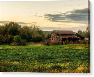 Sunset Over Dogwood Ridge - Canvas Print