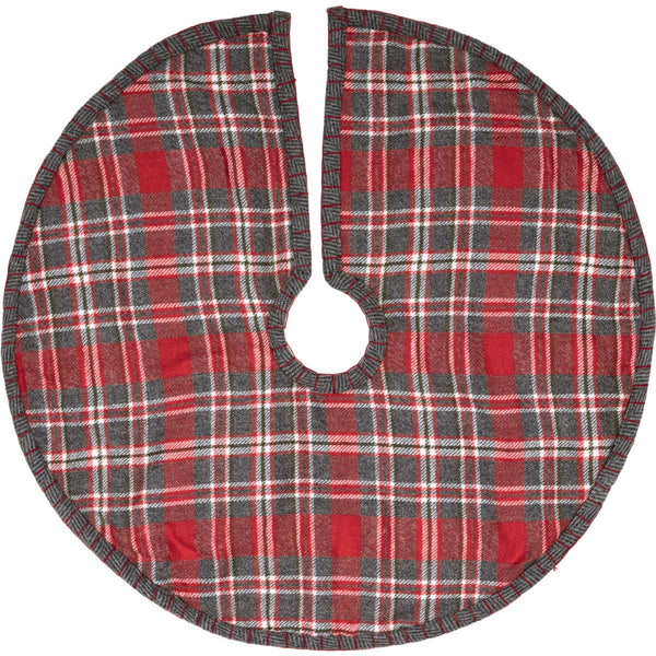 Anderson Plaid Tree Skirt