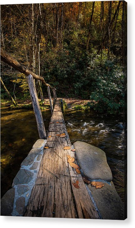 Taking The Next Step - Acrylic Print