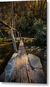 Taking The Next Step - Metal Print