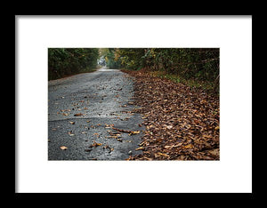 The Long Road Home - Framed Print