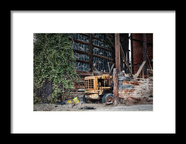The Old Train Depot - Framed Print