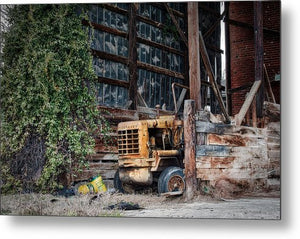 The Old Train Depot - Metal Print