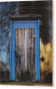 When One Door Closes... - Wood Print