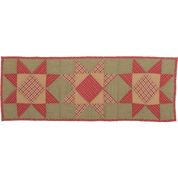 Dolly Star Quilted Runner