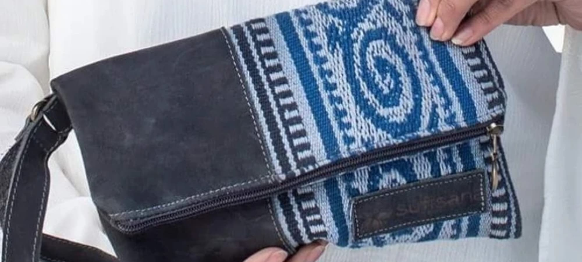 SutiSana handbag made by rescued sex trafficking workers