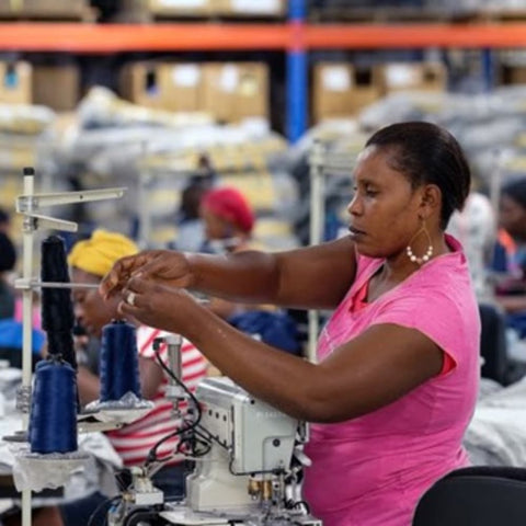 Lucy, the Ugandan seamstress who inspired GOEX apparel
