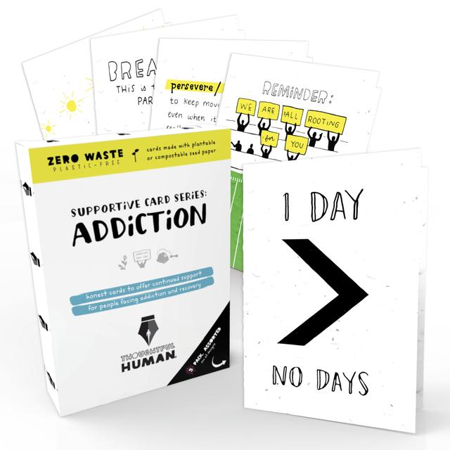 Addiction Support Series-Seed Card Set