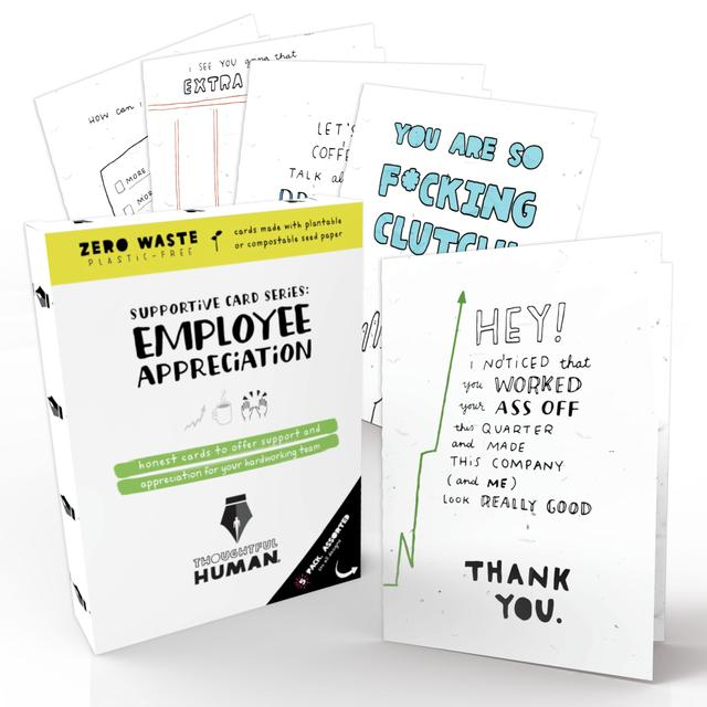 Employee Appreciation Series- Seed Card Set