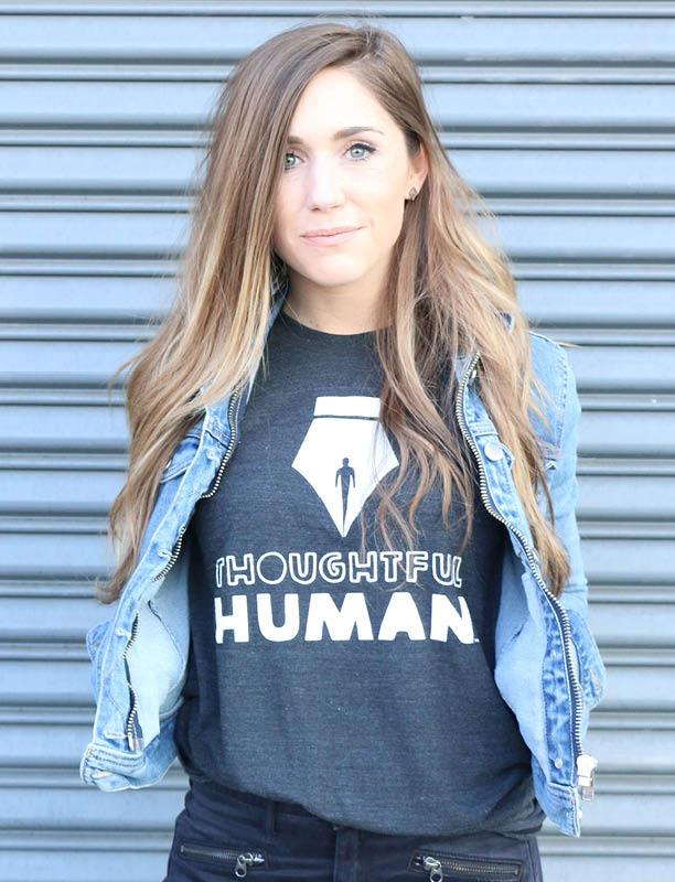 Thoughtful Human Tee
