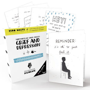 Grief/Depression Support Series-Seed Card Series