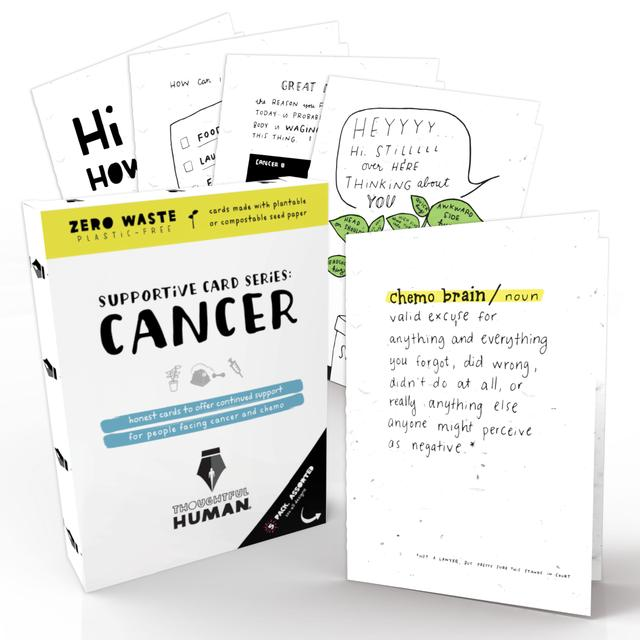 Cancer Support Series-Seed Card Set