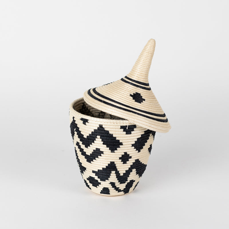 Sisal Peace Basket in Boutique Clover