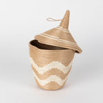 Sisal Peace Basket in Chevron