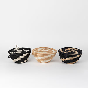 Woven Pot with Lid – Medium