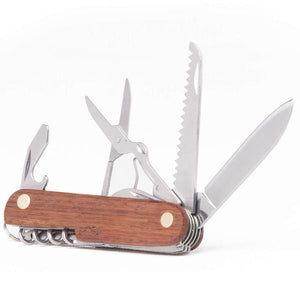 Wood Grain Pocket Multi-Tool