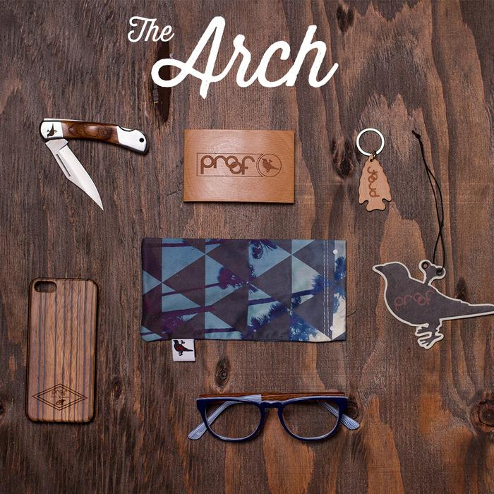 Arch | Wood Wallet