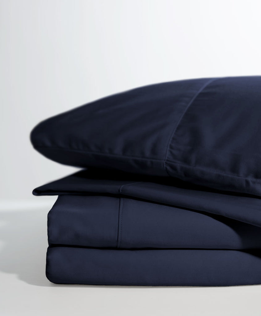 Dark Navy Room Service Sheet Set
