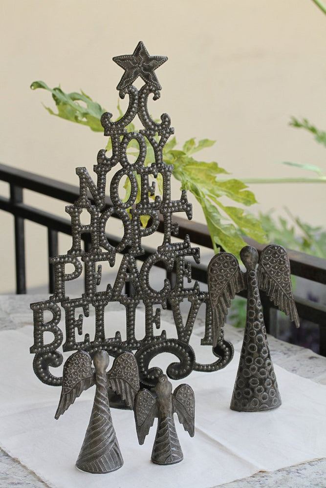 Tree of Joy Standing Metal Art