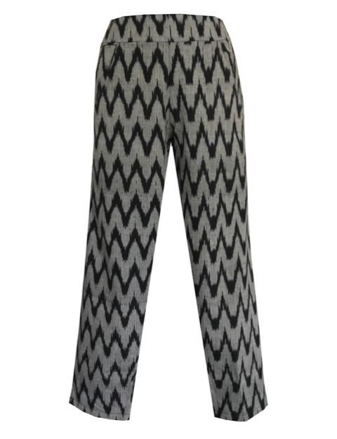 Gray Chevron Crop Pants - Passion Lilie - Fair Trade - Ethically Made Cotton ?id=3567821127738