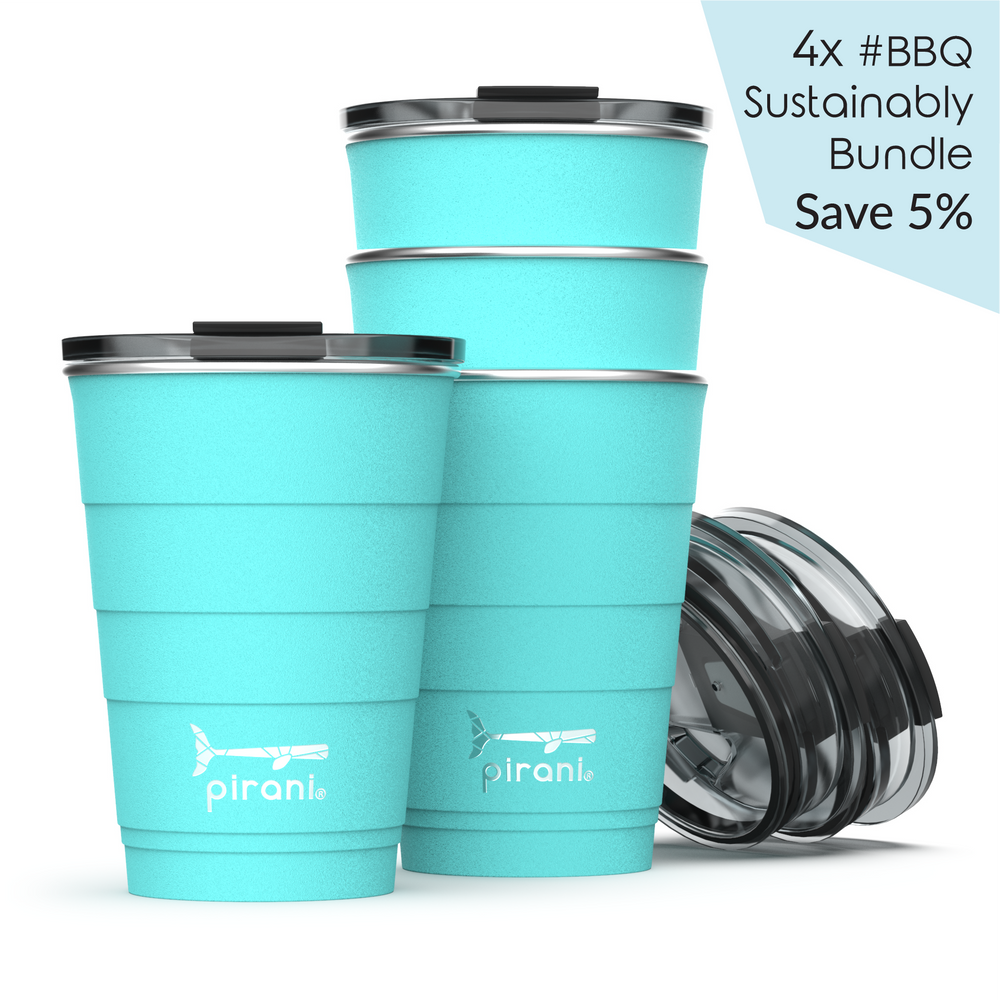 Insulated 16 oz. Party Tumbler - A Pack of 4 Cups