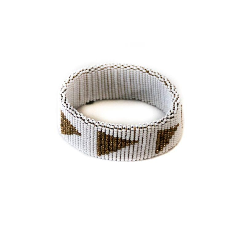 Amboseli Arrow Wide Bangle - Love RoHo